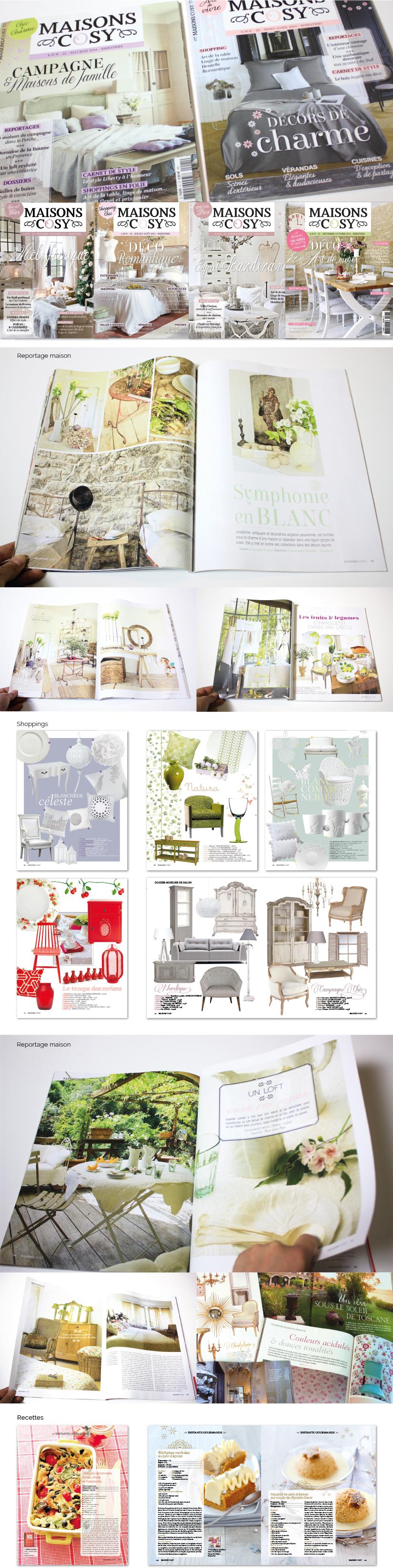 DA mise en page magazine kiosque décoration design intérieur