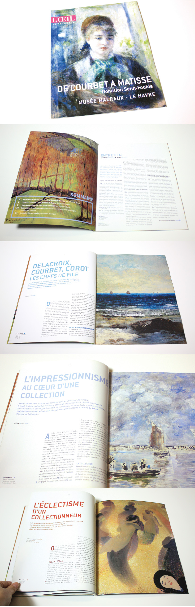 Hors-série mini-catalogue exposition Art XIXe