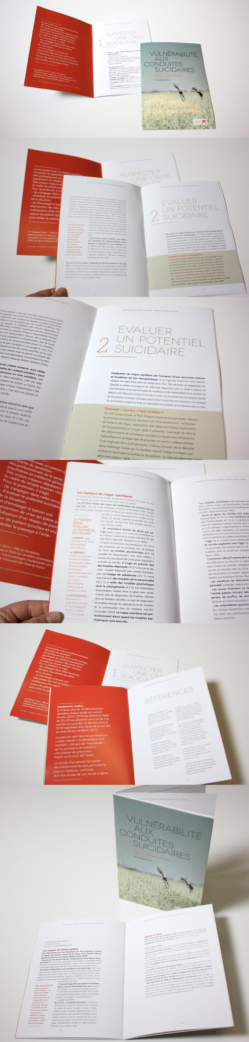 Design graphique fascicule brochure laboratoire médical pharmaceutique